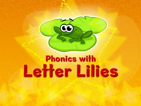 Phonics with Letter Lilies. Phonics game.