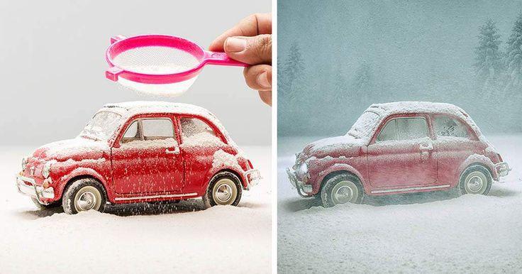 Un fotografo riprende piccoli modellini con una grande immaginazione   Reflex-Mania