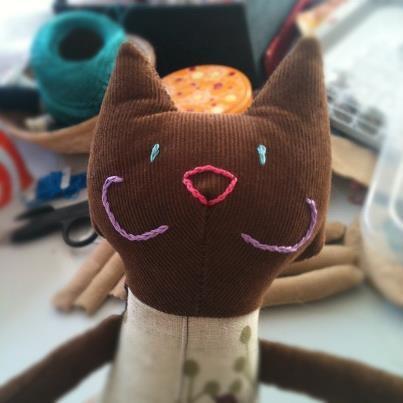 Doudou Chat gato