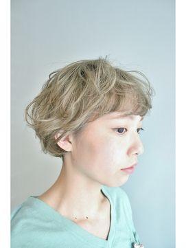 *BOTAN*眉上バング×アッシュ/BOTAN 表参道  ボタンをご紹介。2015年春夏の最新ヘアスタイルを20万点以上掲載!ミディアム、ショート、ボブなど豊富な条件でヘアスタイル・髪型・アレンジをチェック。