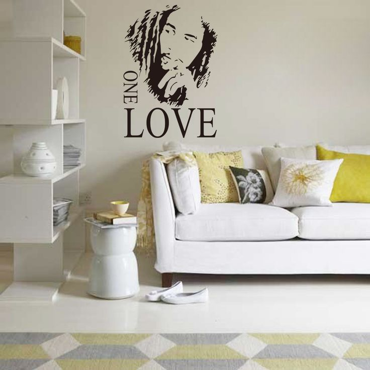 Cheap Decor Wallpaper, Buy Quality Vinyl Wall Art Directly From China Music  Vinyl Suppliers: 1 Set Inch Bob Marley Living Room Music Vinyl Wall Art  Decals ...