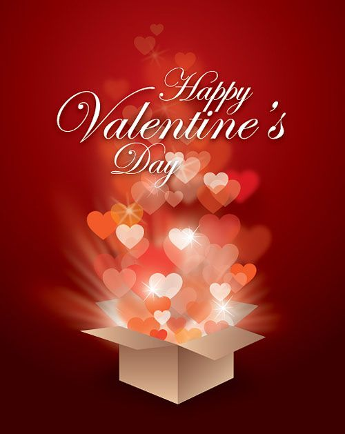 valentine's day | 21 Beautiful Free Valentine's Day Vector Graphics | Designbeep