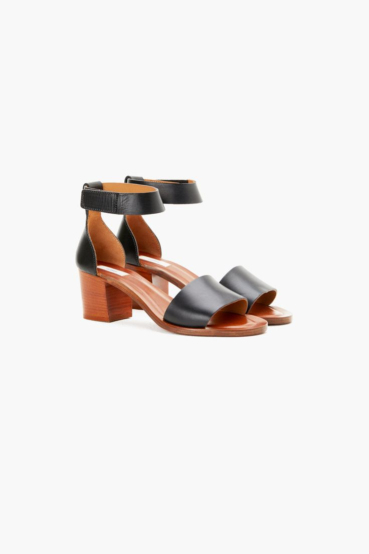Leather Sandals with Heels