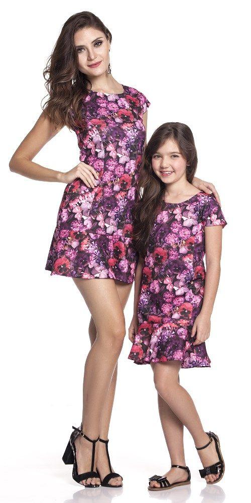 Vestido Luxinhos Floral Adulto | OLIVIAS TAL MÃE TAL FILHA | Olivias