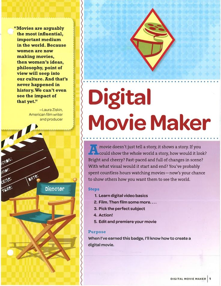 Digital Movie Maker Badge The eight phases of making a film – Peter D. Marshall 1. Script Development 2. Financing 3. Pre-Production 4. Production 5. Post-Production 6. Advertising/Promotion 7. Distribution 8. Exhibition Copyright (c) 2000-2012 Peter D. Marshall / All Rights Reserved - See more at: http://actioncutprint.com/film-directing-tips/#30