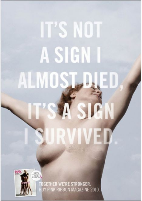 It's a sign I survived. Beautiful #breast_Cancer