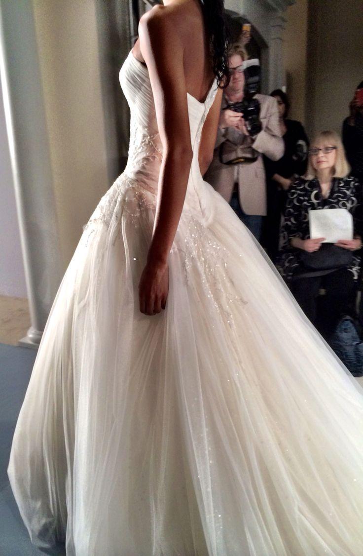 Lisa robertson in wedding dress - Zunino Couture Bridal Show Fall 2014 Lisa Robertson