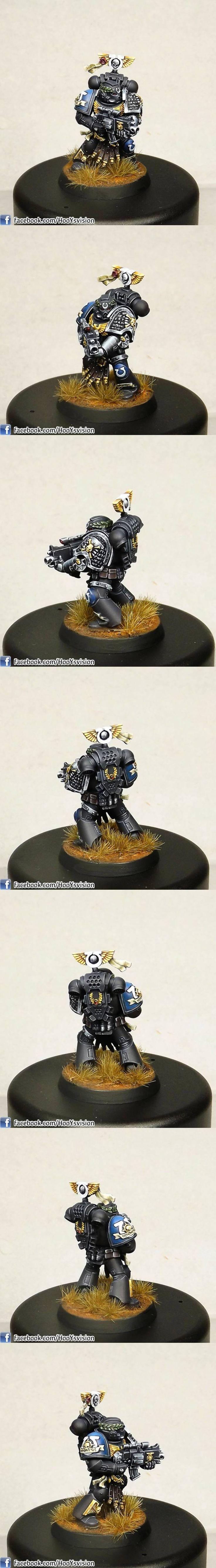Vael Donatus, Ultramarine Sternguard Veteran - HooY