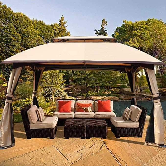Amazon Com Abccanopy 10 X 13 Patio Gazebo Cano In 2020 Patio Gazebo Gazebo Gazebo Canopy