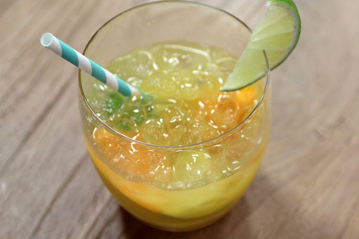 Niet-alcoholische caïpirinha