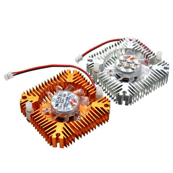 DC 12V LED light Cooling Cooler Heatsink With Fan For 5W/10W High Power Sale - Banggood.com