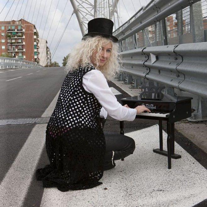 Alessandra Celletti, la libertà della musica