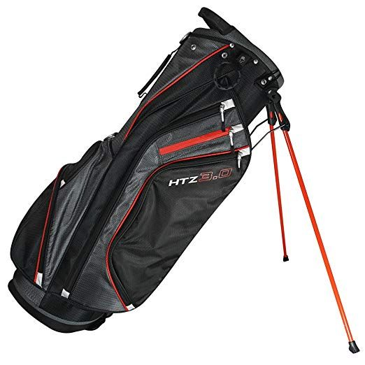 d375284cf752 Amazon.com   Hot-Z Golf 2018 3.0 Stand Orange Black Grey Bag   Sports    Outdoors