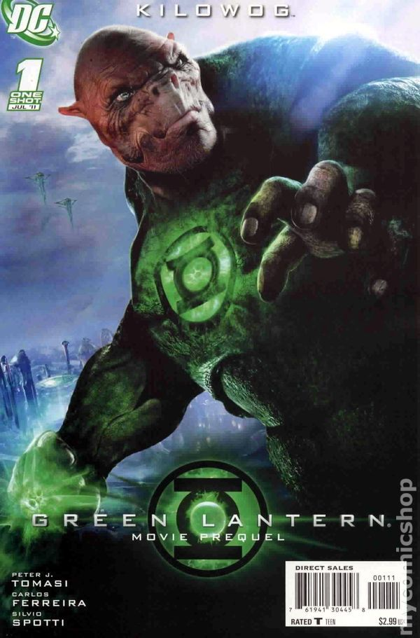 Green Lantern Movie Prequel Kilowog (2011 DC) 1