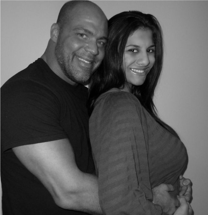 Kurt Angle & his new wife Giovanna Yannotti | Wrestling ...