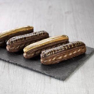 Eclairs Choc'Or (pour environ 20 éclairs) - Recette pâtisserie - Condifa