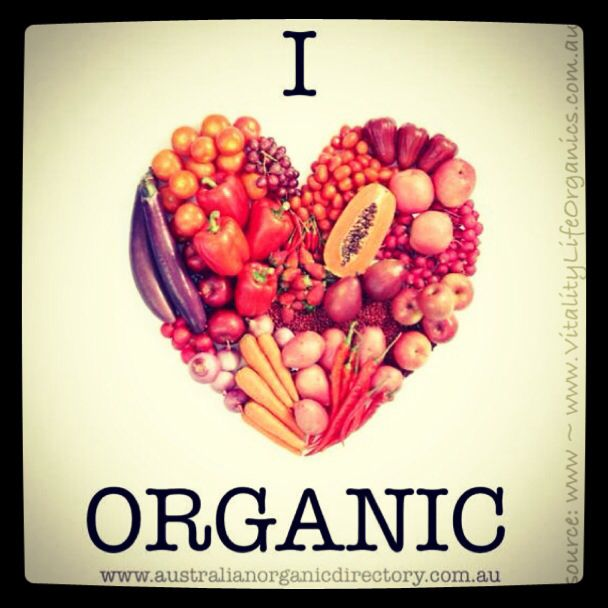 I ❤️ Organic!  Love organic food, organic products & organic life.   ^ Healthy me ^ Healthy family ^ Healthy planet   www.VitalityLifeOrganics.com