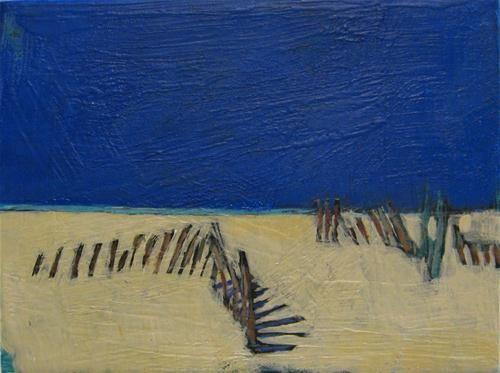 Beach Fence Sky - Kristina Davidson