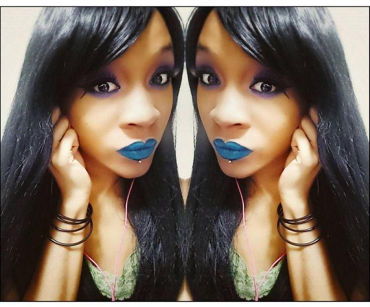 The beautiful @_imzer0 Looking amazing in Lush Wigs style: - The Dark . . #lushwigs #wig #lushwigsthedark #lushhair #wigs #lushwig  Availabl now from Lushwigs.com (link in bio)