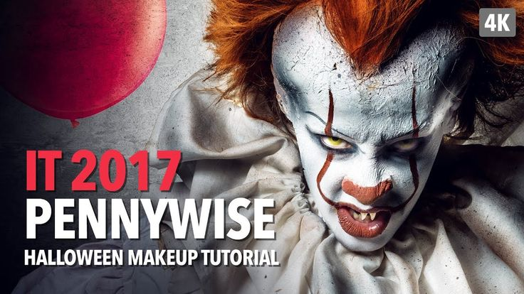 It 2017 - Pennywise  IT Halloween Makeup Tutorial This one is not for beginners