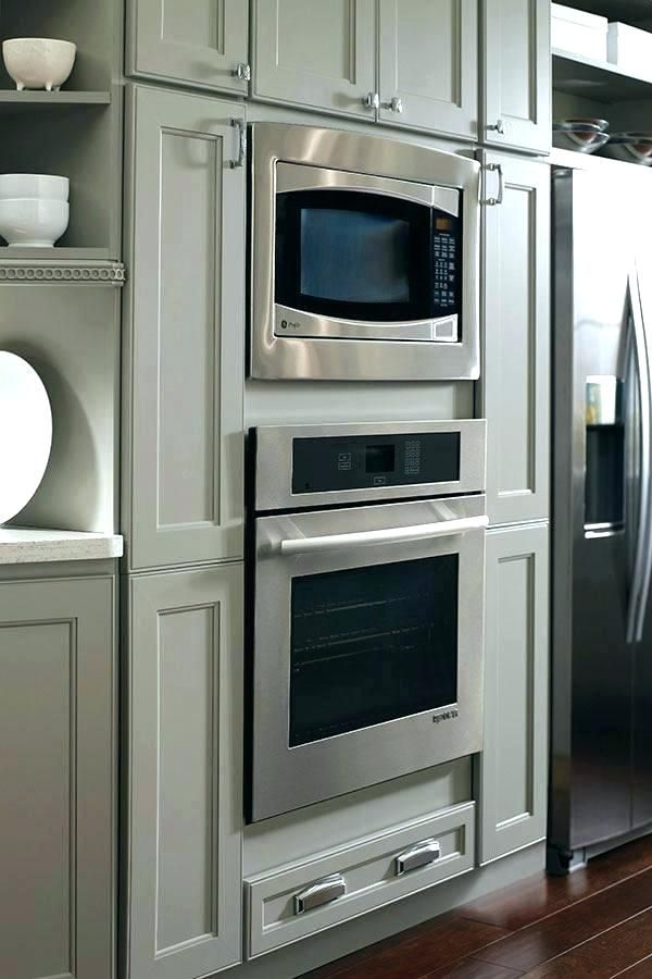 Double Wall Oven Cabinet Dimensions Google Search Wall Oven Microwave Wall Oven Oven Cabinet
