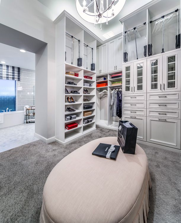 White walk in closet by classy closets schedule a free for Walk in closet white