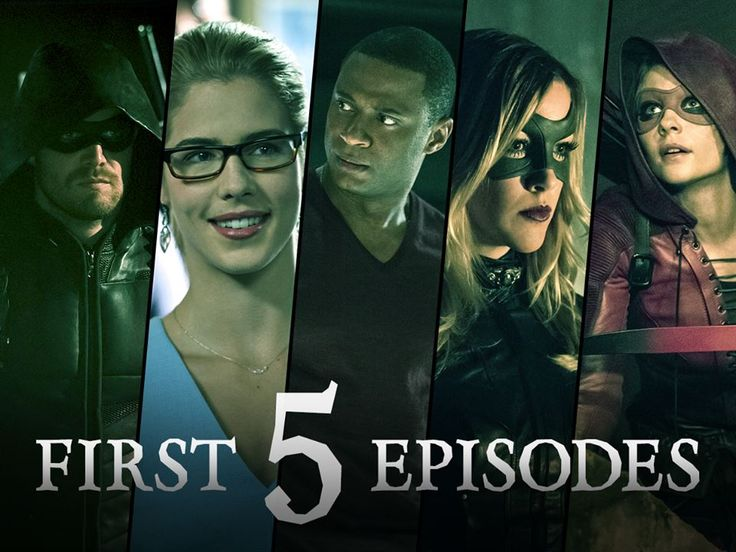 Watch this season of #Arrow from the beginning....stream the first 5 episode now: