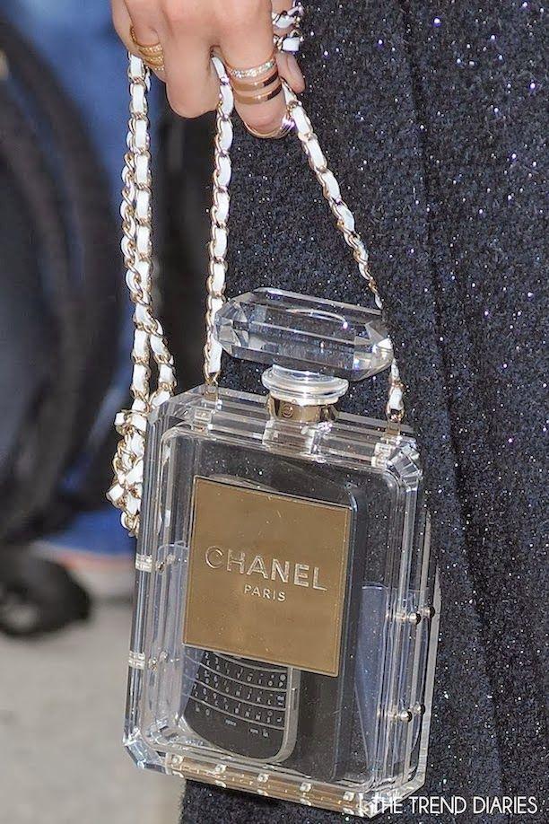 Chanel Cruise 2014 Perfume Bottle Bag bags Pinterest