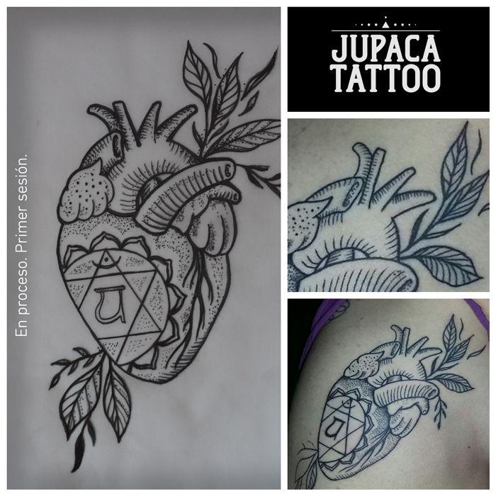 Juan Pablo Cacchione :: jupaca tattoo :: corazon tattoo :: heart