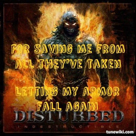 Lyrics for disturbed stupify