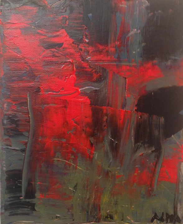 Abstract painting - Alma gallagher