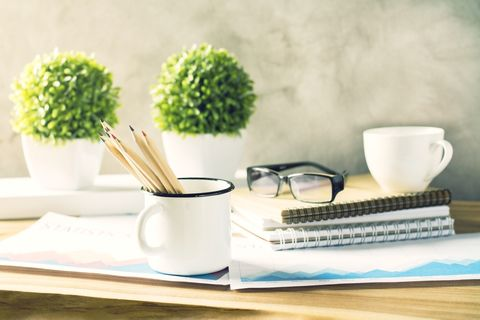 National Clean Off Your Desk Day is January 9. The average office worker spends 2000 hours per year at her desk. Here are some great tips to clean it up.