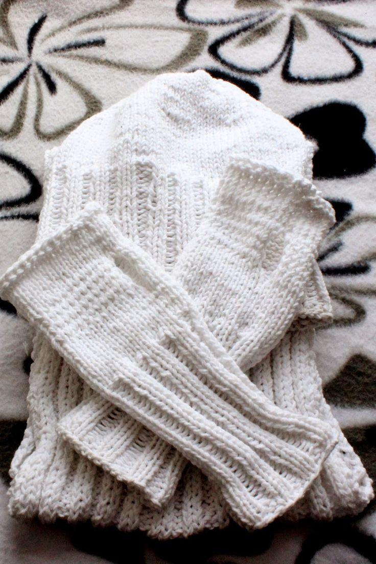 winter pack, zestaw zimowy, knitting, druty, YarnArt Jeans, handmade by Kassy