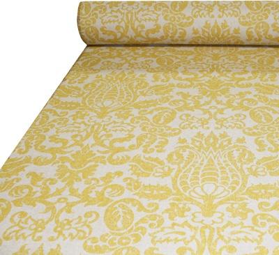 Tonic Living,Bodega, Maize/Linen,87% Cotton and 13% Rayon,Retro futon covers, retro fabric and pillows