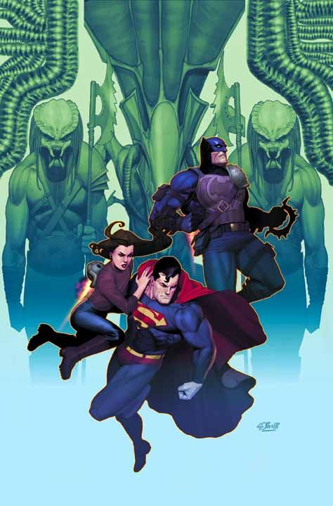 Superman & Batman Vs. Aliens & Predators