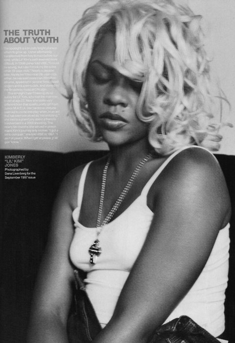 The real Lil Kim, I can see how much rihannas latest pics are inspired by her now