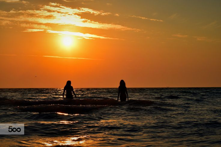friends at sunset by Carlotta Ricci on 500px