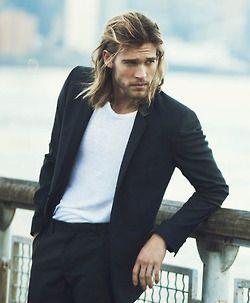 Josh Upshaw suit men Style hair beard tumblr