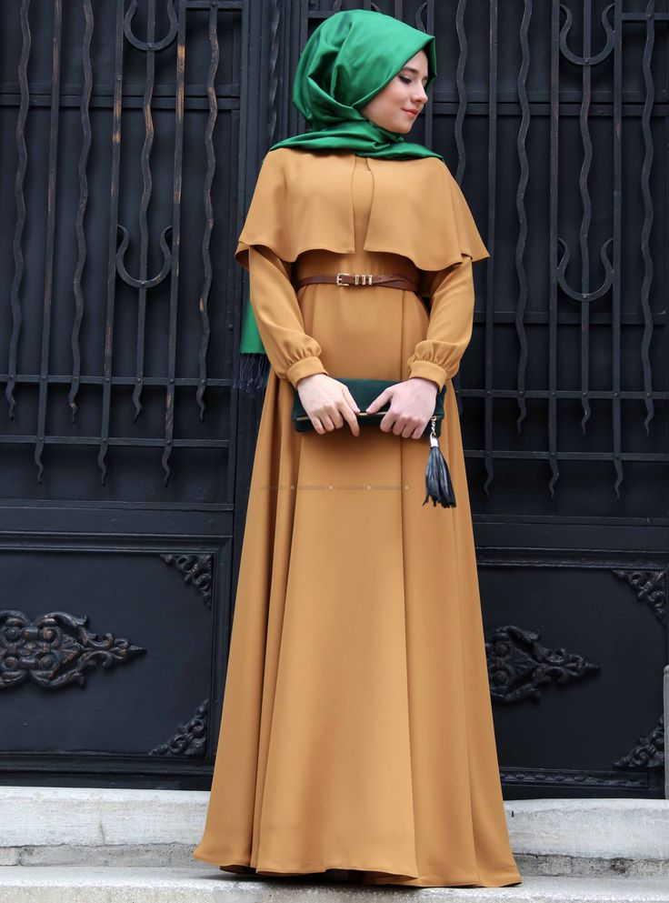 Cape dress - Yellow - Mevra.Beautiful dress,I like this in top!