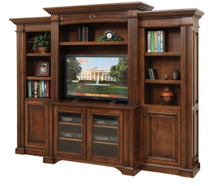 youu0027ll save on every piece of furniture at amish outlet store we custom make every item and you can get the tremont center with bookcases in
