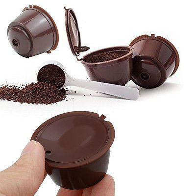 Refillable k-carafe k cup #coffee #dolce gusto capsule barware #filter cup,  View more on the LINK: http://www.zeppy.io/product/gb/2/301985047892/