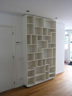 ... Moderne Boekenkast op Pinterest - Boekenkasten, Wandkasten en Modern