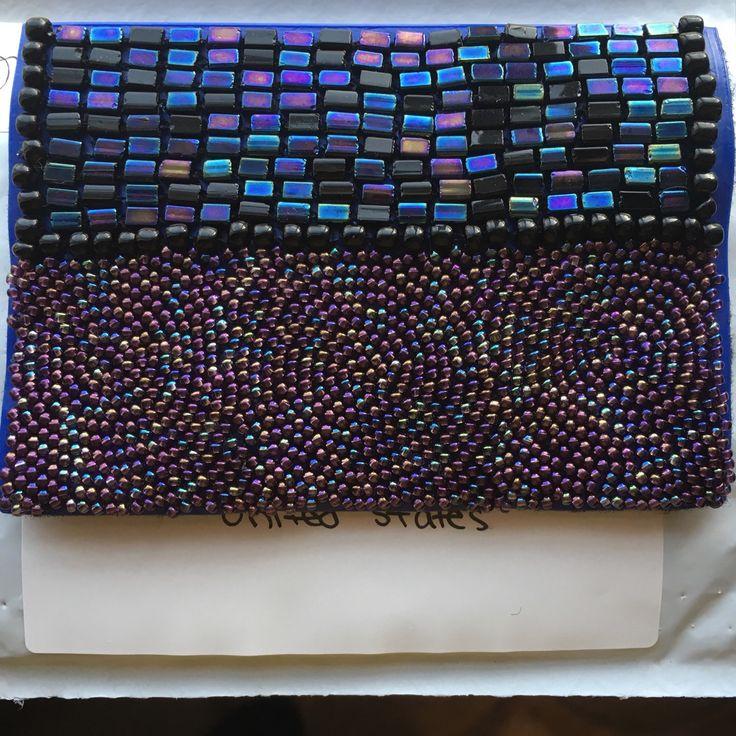 Oil spill case! #beaddiscreet #pillcase #pillholder #birthcontrol #birthcontrolcase #beads #beadedcase #case #handmade #handbeaded #metallic #metalliccase #oilspill #oilspillcase #art #bright #etsy #decorate #designer #prettycase #colorful #iridescent