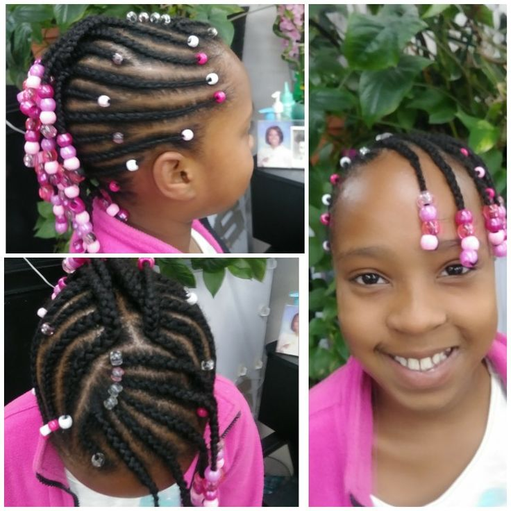 Lil girls hairstyles beads , beads an more beads
