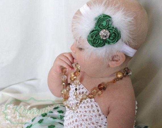 Beautiful Rosette headband!