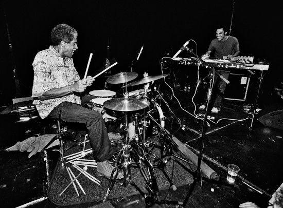 Steve Reid and Kieran Hebden (Four Tet)