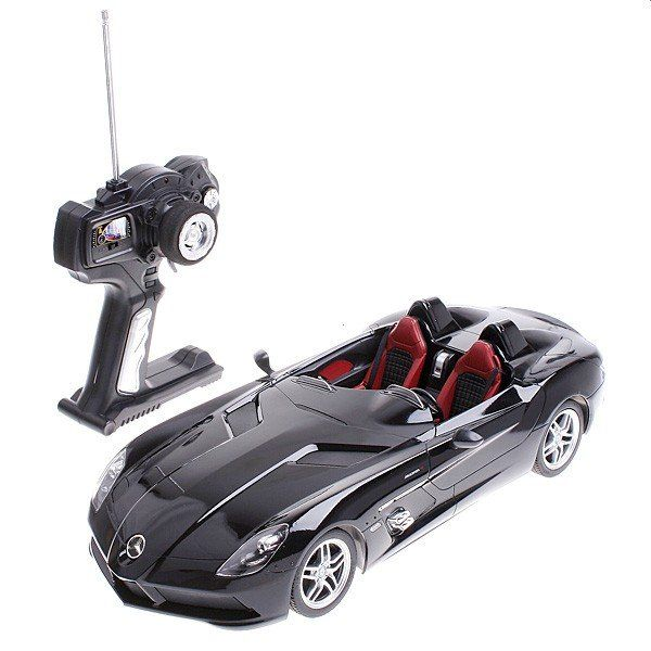 This is Mercedes-Benz SLR McLaren Z199 Car Model made by Rastar. Description from ebay.com. I searched for this on bing.com/images