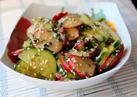 Японский салат - Коллекция вкусных кулинарных рецептов японских