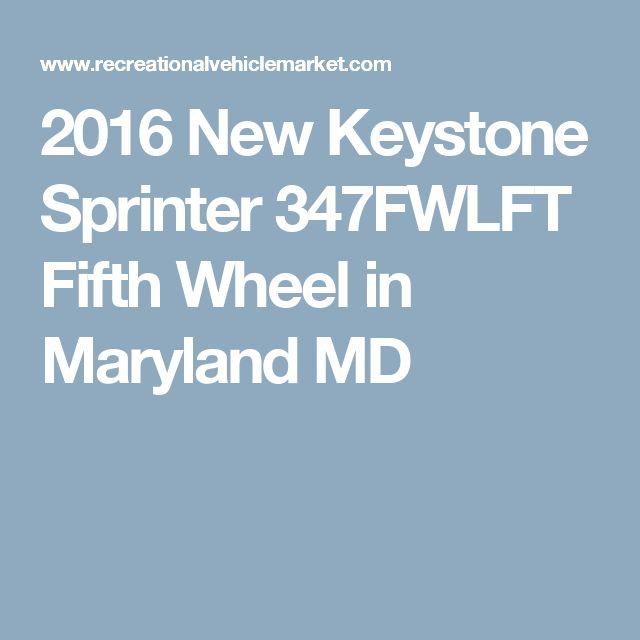 2016 New Keystone Sprinter 347FWLFT Fifth Wheel in Maryland MD