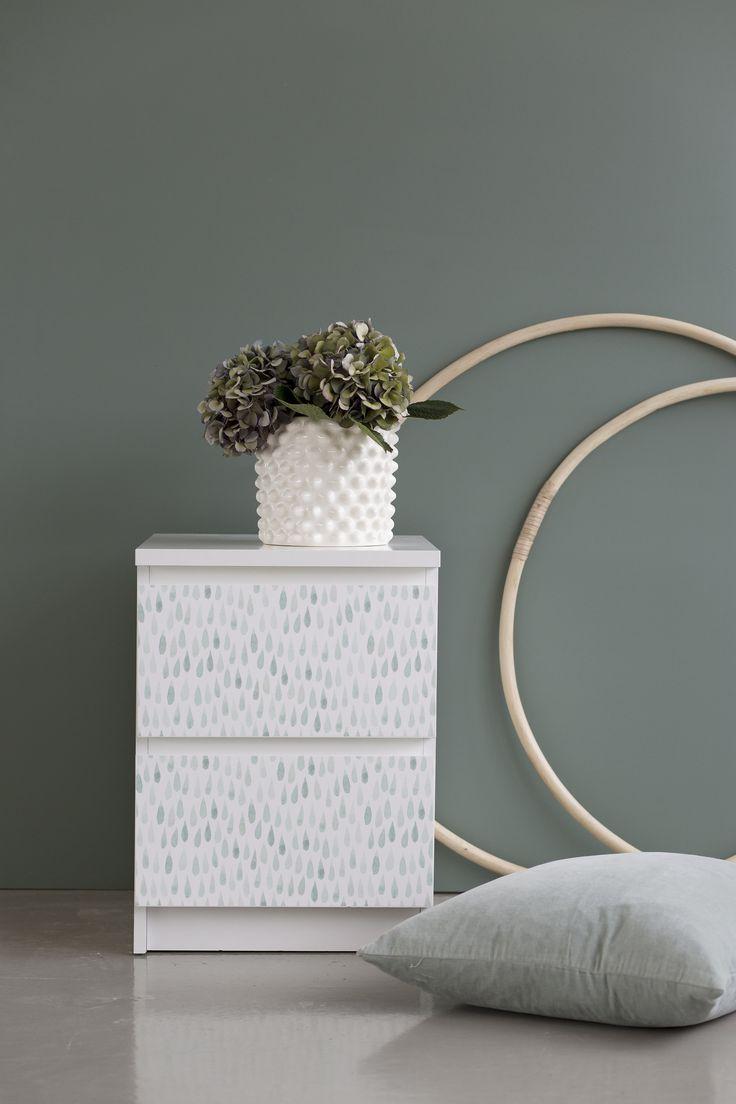 9 best Ikeas sängbord Malm med självhäftande fronter från ...